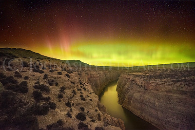 """""""Bighorn Canyon Aurora"""""""