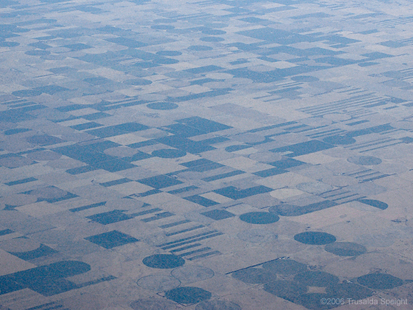 The plains of the midwest