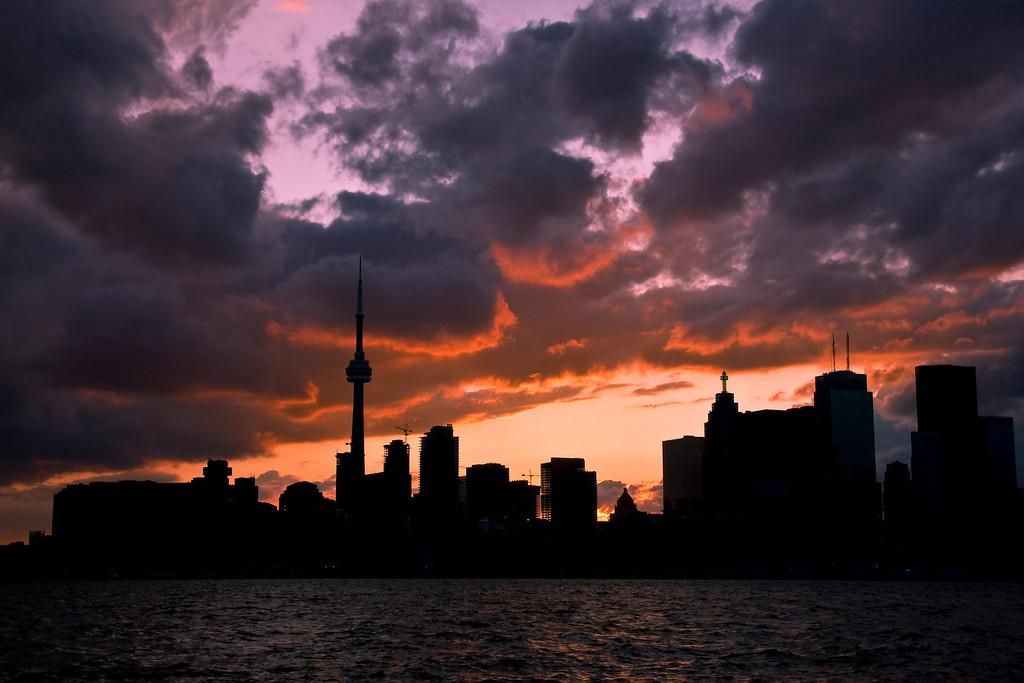 IMG#2587 Sunset, Toronto, Ontario