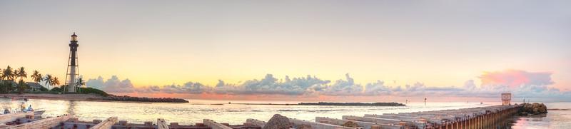 Sunrise @ Hillsboro Inlet Lighthouse Pompano Beach, FL