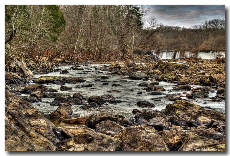 Deep River river bed