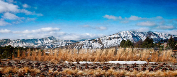 Fort Lewis College in Durango, Colorado is renown for the sweeping views enjoyed from the campus on the Mesa.