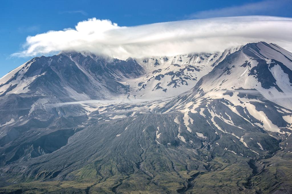 Mt St Helens - 100mm Telephoto (36th Anniversary)