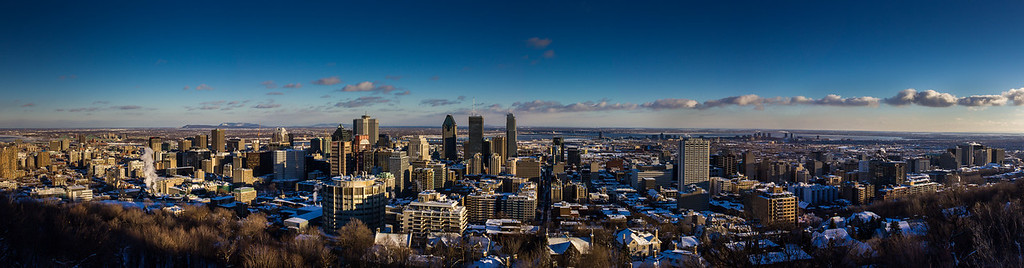 Montreal  City Scape