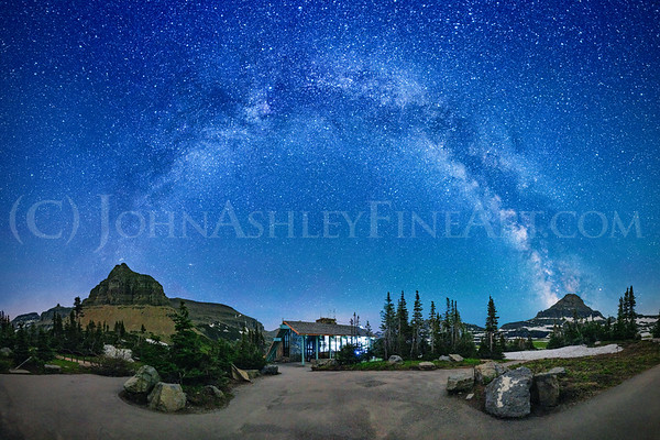 """Logan Pass Milky Way."""