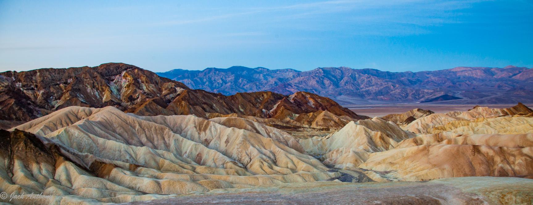 View at Zabriska Point, Death Valley NP, CA