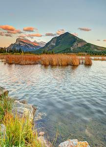 sunset @ Vermilion Lakes Banff National Park Alberta, Canada
