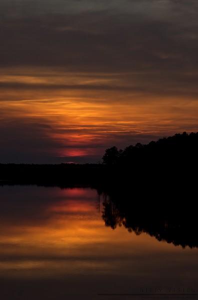 """Fiery Sunset"""