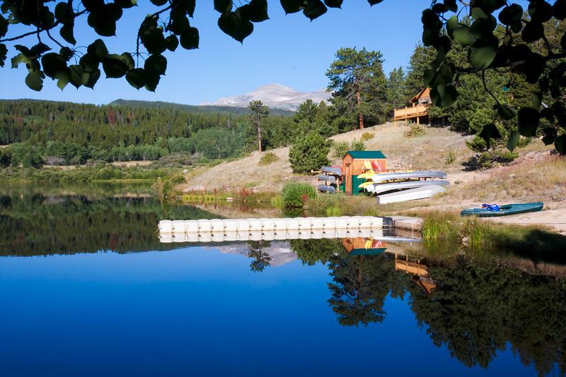 Tumblesome Lake, Tahosa Scout Ranch near Ward, CO