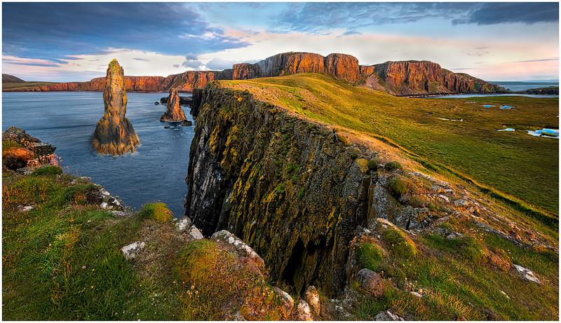 Scottish Seastacks