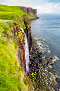 Kilt Rock Waterfall