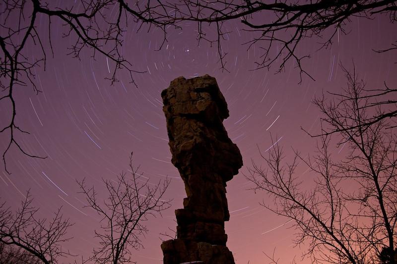 North Star and Balancing Rock