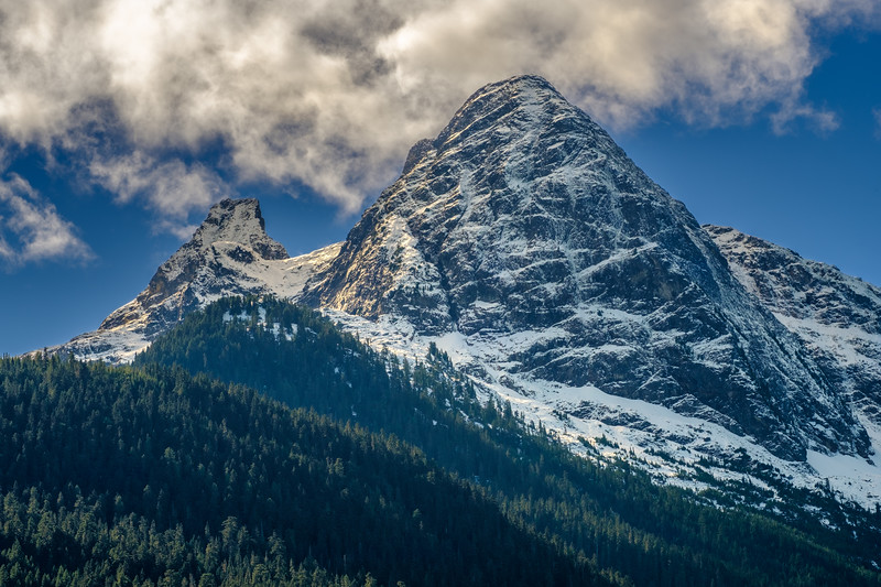 Pyramid Peak along the North Cascades Highway