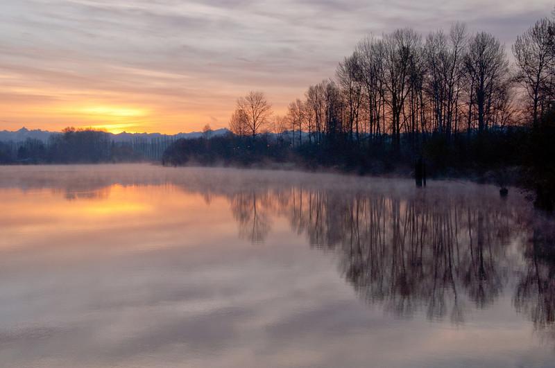 Snohomish River Sunrise