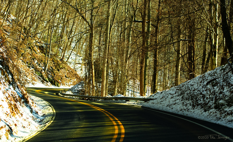 Sun Snow and Curves