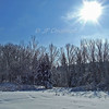 Snow scene, Deep Brook NS.