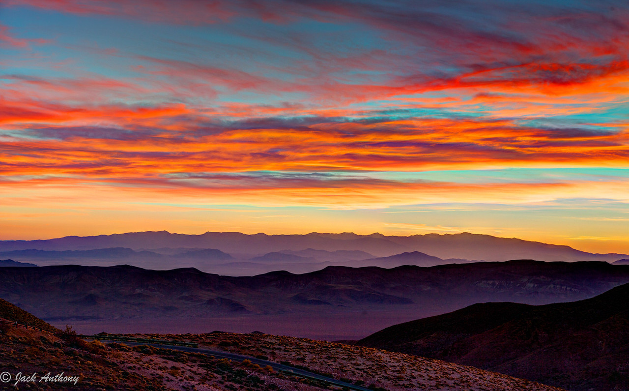 Sunrise at Dantes View, Death Valley National Park, CA