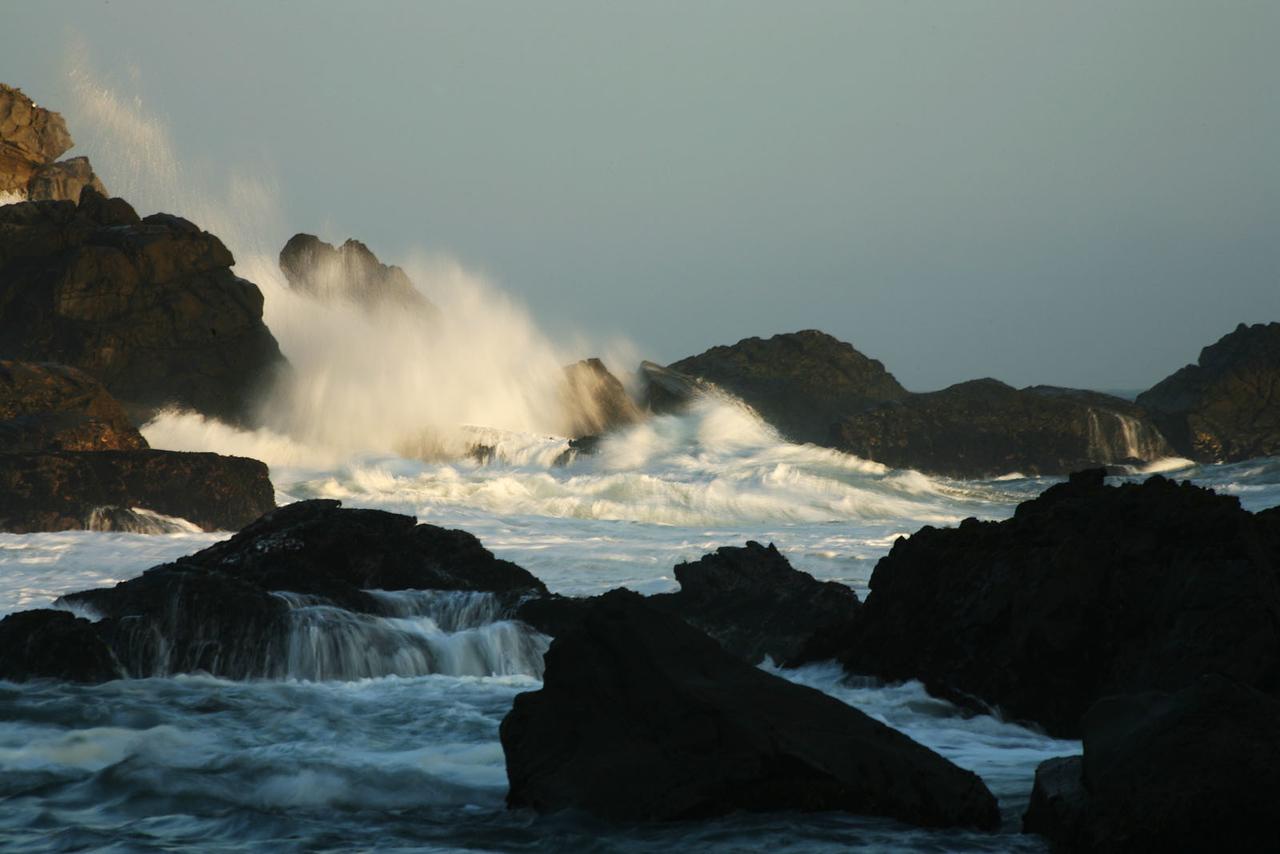 Crashing waves 1, Big Sur, California