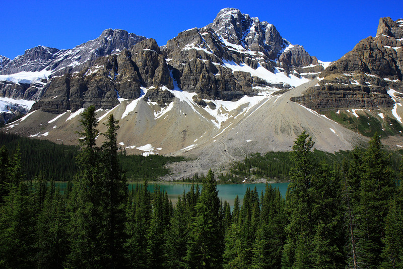 Bow Lake-View from Icefield Pathway