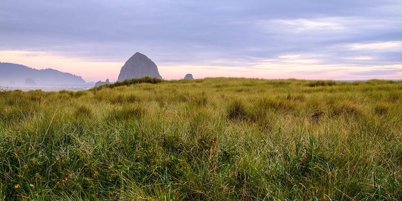 Haystack Rock Sunset