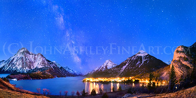 """Waterton Valley Milky Way"""