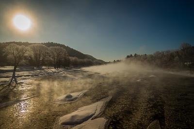 Raparius Frost at Sunrise
