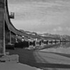 Bear River Train Trestle B&W.