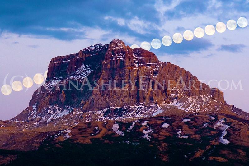 Chief Mountain Moonrise