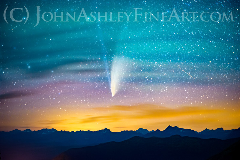 """NEOWISE Peaks at Glacier."""