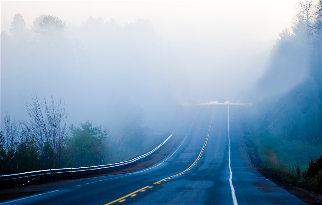 Misted Highway