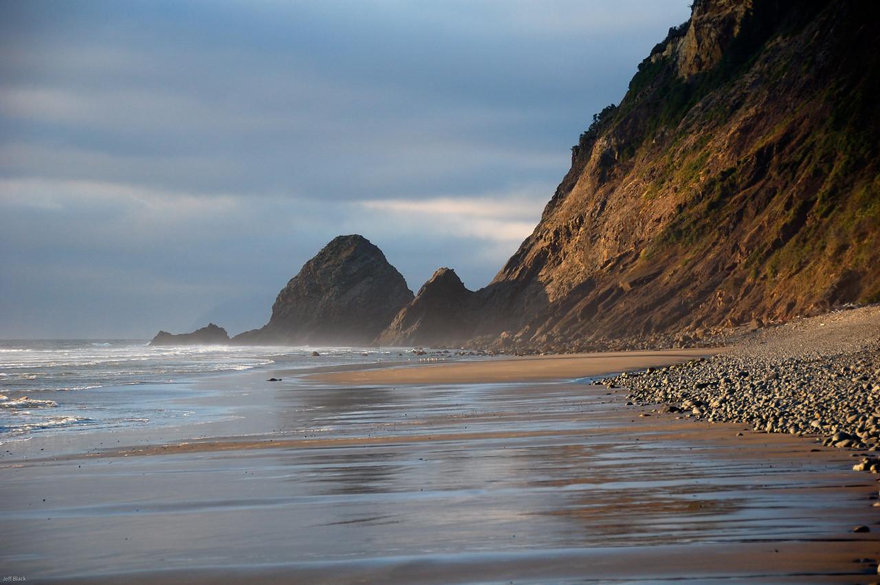 Near Arch Cape, Oregon coast.