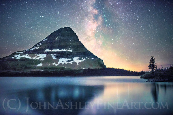 """Hidden Lake Shooting Star"""