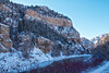 Glenwood Canyon in Winter