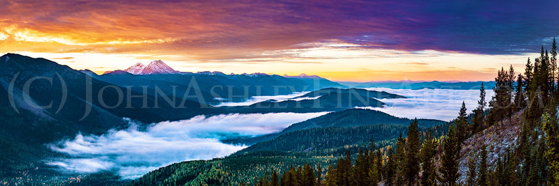 """Great Northern Dawn"" (panoramic version)"