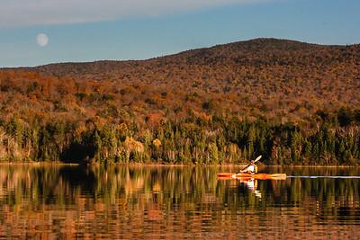 A Late Autumn Paddle