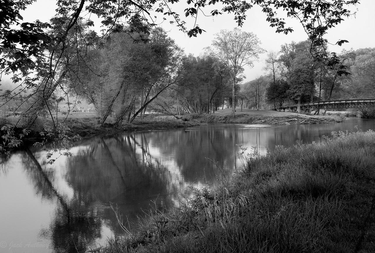 Chestatee River at Achasta Golf Course, Dahlonega, GA