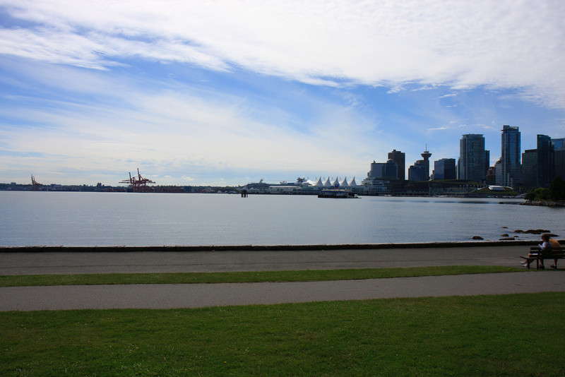 Some Views from Sea Wall in Stanley Park, Vancouver