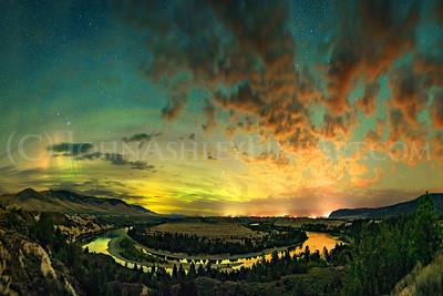 """""""Flathead River Bend."""""""