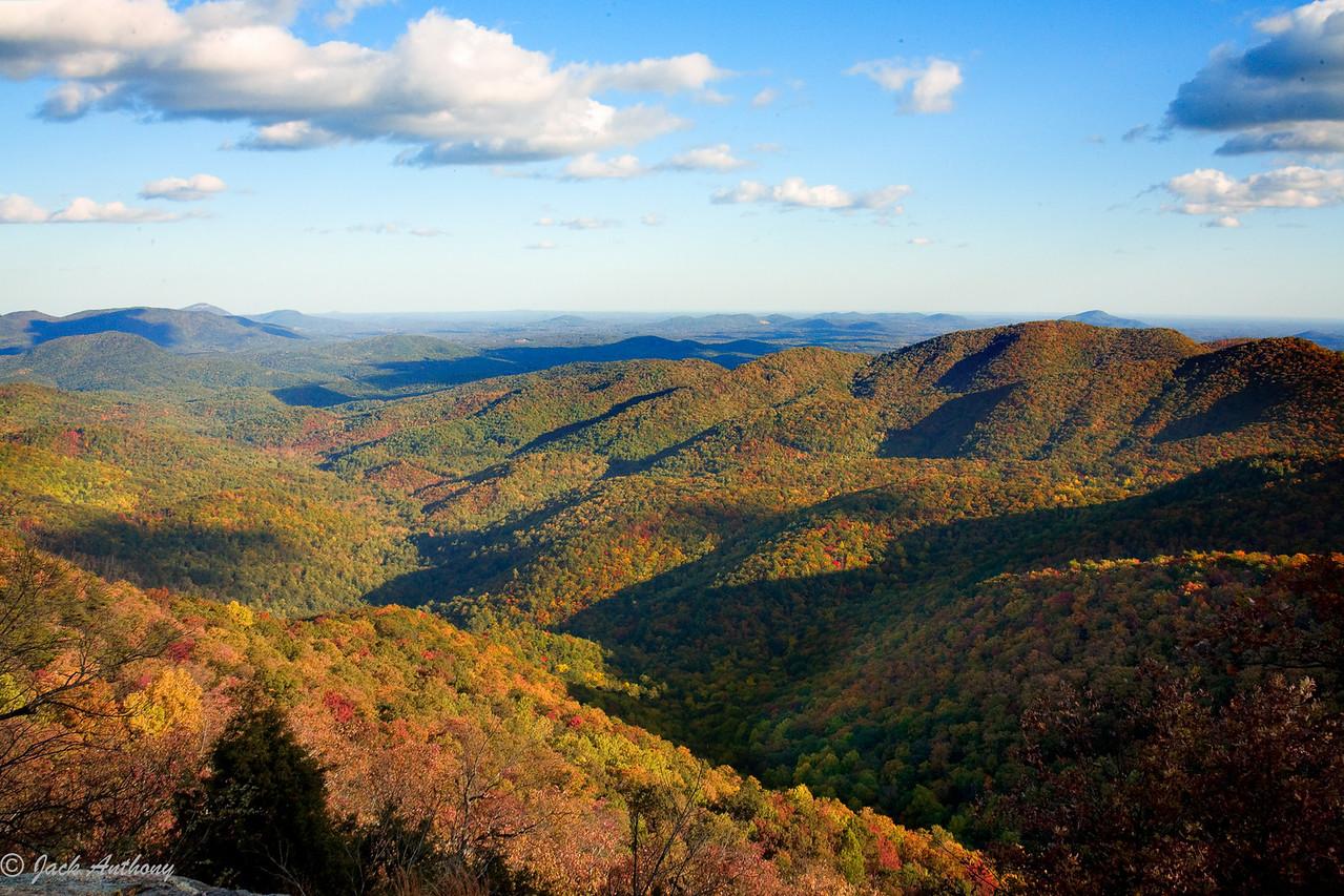 View from Preaching Rock, Lumpkin County, GA