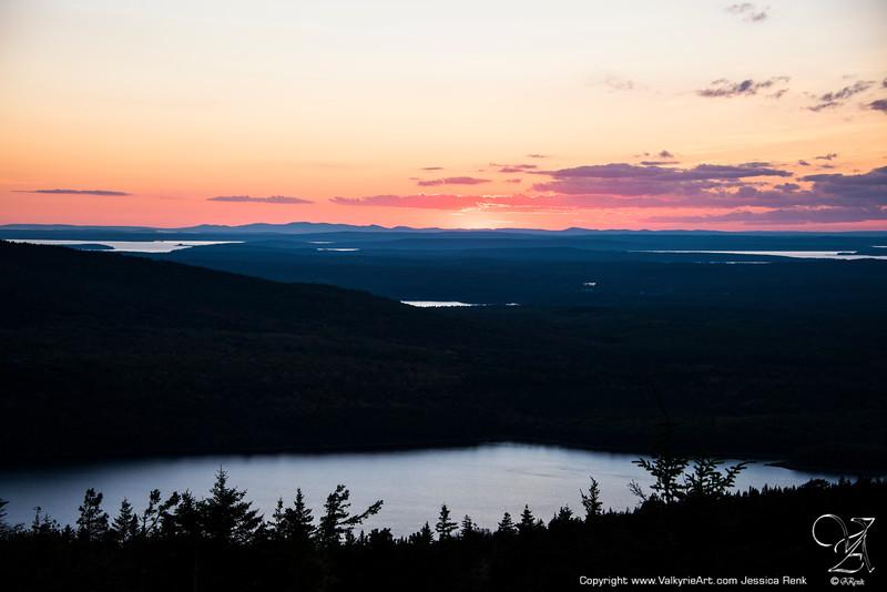 Cadillac Mountain Sunset 3
