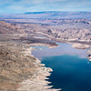 Aerial view Hoover Dam, Grand Canyon - South Rim