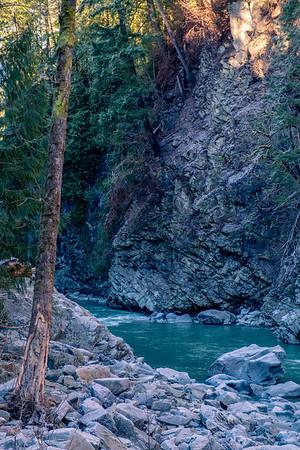 Stillaguamish River near Granite Falls-Vertical