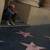 deep thoughts: homeless man, hollywood walk of fame. discuss.