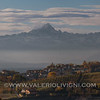 Langhe - Monforte d'Alba from Roddino (Monviso mountain in the background)