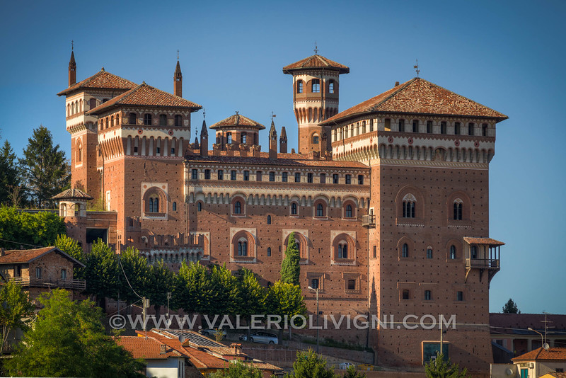Monferrato - The castle of Cereseto