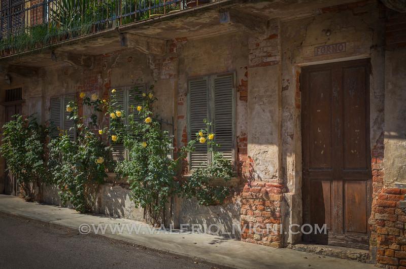 Roero -  Old bakery at Castellinaldo