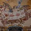 Magliano Alfieri  - Fresco with the Holy Shroud at the castle's chapel