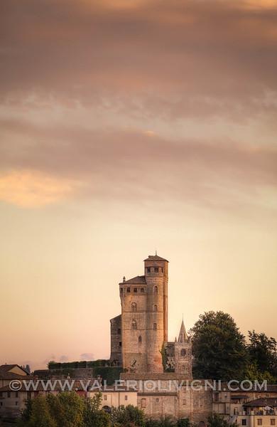 Langhe -  Castle of Serralunga d'Alba