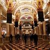 Lobby at the Venetian in Las Vegas