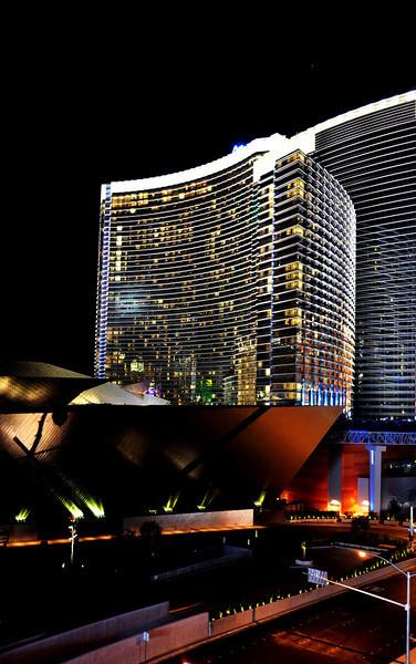 Las Vegas at night 3